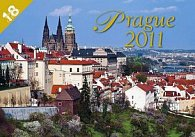 Kalendář 2011 - Praha - 18měsíční (30x21) nástěnný