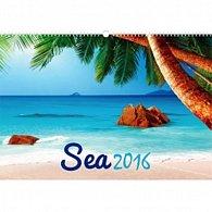 Kalendář nástěnný 2016 - Moře,  48 x 33 cm