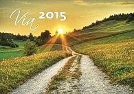 Kalendář nástěnný 2015 - Via