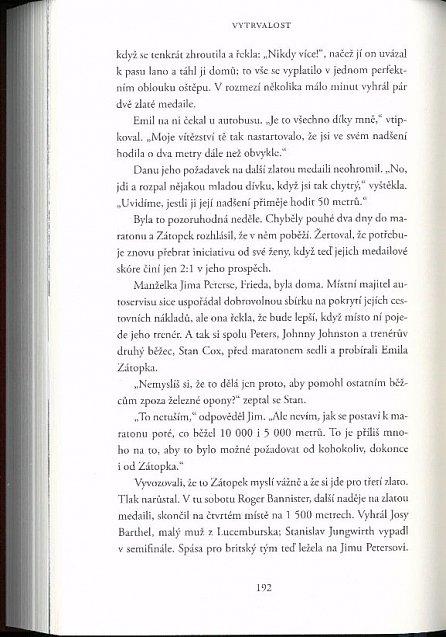 Náhled Vytrvalost - Pozoruhodný život a doba Emila Zátopka