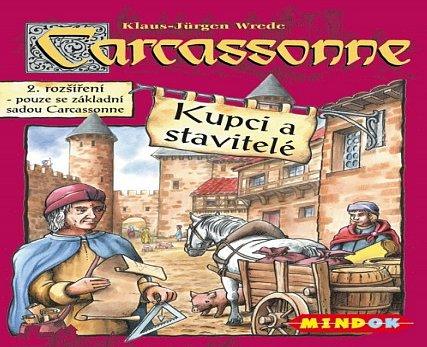 Náhled Carcassonne - rozšíření 2 (Kupci a stavitelé)