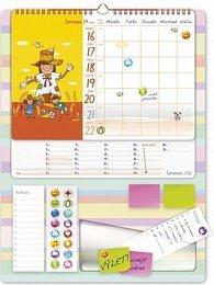Kalendář 2012 - Maminčin plánovač, nástěnný