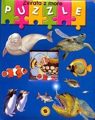 Zvířata z moře - puzzle