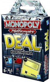 Společenská hra Monopoly Deal Millionaire