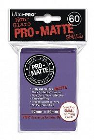 UltraPRO: 60 DP PRO Matte obaly malé  - fialová