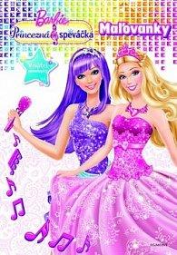 Barbie Princezná a speváčka Maľovanky