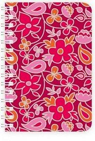 Diář Twins 2012 - Design týdenní M - Charming Red