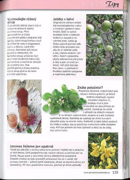Náhled Zahradnický kalendář 2016