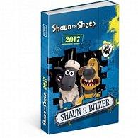 Diář 2017 - Ovečka Shaun - týdenní