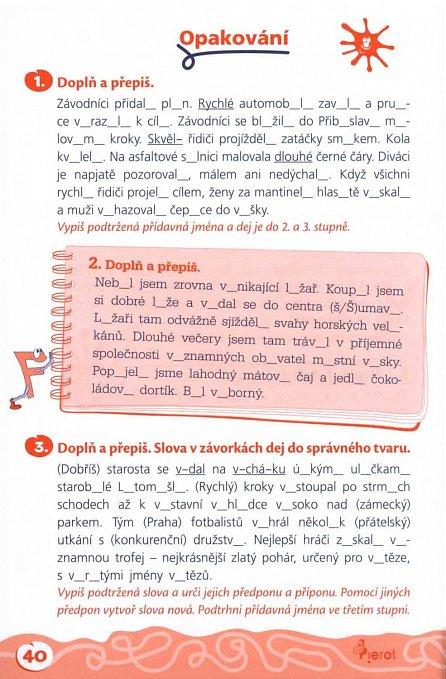 Náhled Domácí procvičování - Čeština 5. ročník