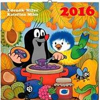 Kalendář nástěnný 2016 - Krteček, poznámkový  30 x 30 cm