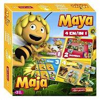 Hra 4 v 1 - Včelka Mája