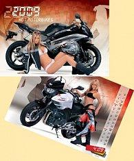 Hot Motorbikes 2009 - nástěnný kalendář
