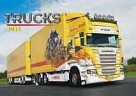 Trucks - nástěnný kalendář 2014