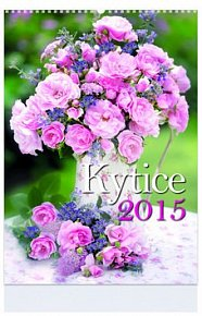 Kytice - nástenný kalendář 2015