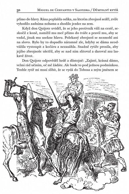 Náhled Důmyslný rytíř Don Quijote de La Mancha