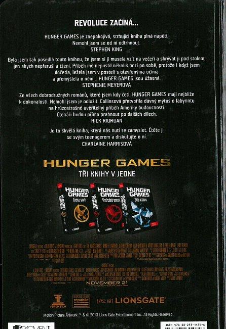 Náhled Hunger Games - komplet (Aréna smrti, Vražedná pomsta, Síla vzdoru)