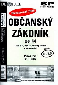 Občanský zákoník v platném znění k 1.1.2005