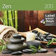 Kalendář nástěnný 2013 - Zen