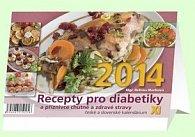 Recepty pro diabetiky XI - stolní kalendář 2014