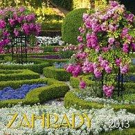Zahrady - nástěnný kalendář 2013