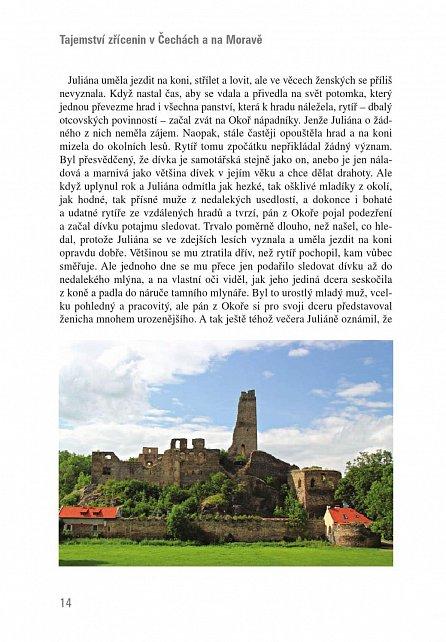 Náhled Tajemství zřícenin v Čechách a na Moravě (kniha obsahuje dvě volné vstupenky na hrad Okoř)