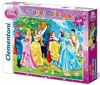 Puzzle Maxi Princezny 104 dílků