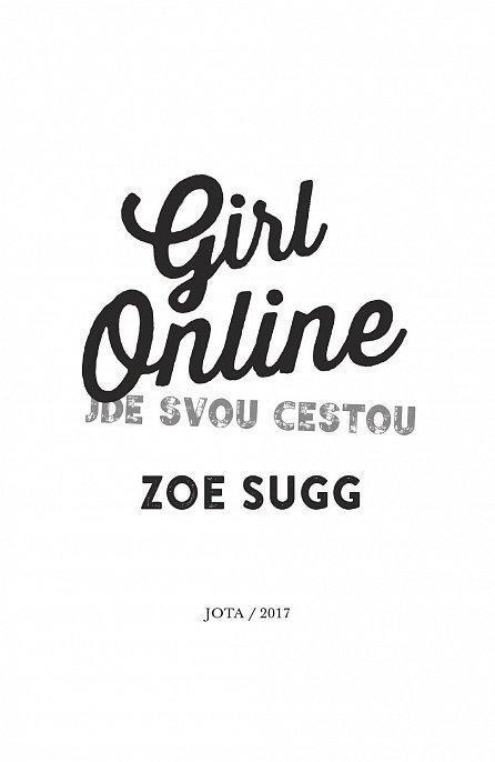 Náhled Girl Online 3 - Jde svou cestou