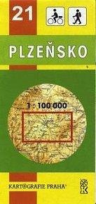 TM 21 Plzeňsko 1:100 000