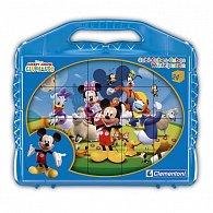 Kostky Kufřík(24 kostek) - Mickey Mouse