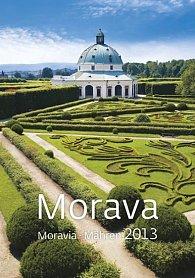 Kalendář nástěnný 2013 - Morava