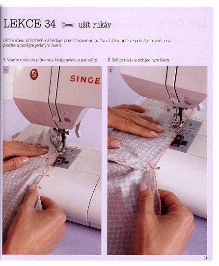 Náhled Začínám šít na šicím stroji - 50 lekcí, 15 modelů
