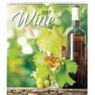 Kalendář nástěnný 2017 - Víno
