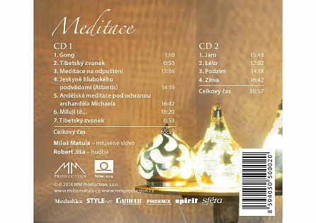 Náhled Meditace - DELUXE 2 CD