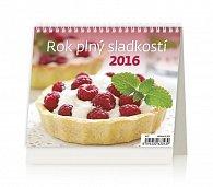 Kalendář stolní 2016 - MiniMax - Rok plný sladkostí ČR
