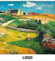 Kalendář 2013 nástěnný - Impresionismus, 48 x 46 cm