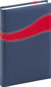 Diář 2013 - Calipso - Denní B6, modročervená, 11 x 17 cm