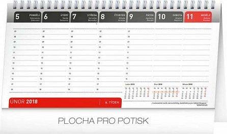 Náhled Kalendář stolní 2018 - Manažerský s citáty, 25 x 12,5 cm