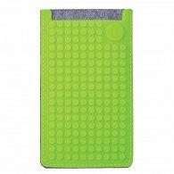 Pixel Obal na telefon Velký Šedá/Jablečná zelená