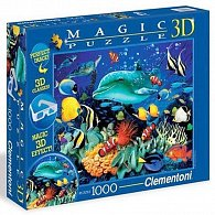 Puzzle Magic 3D 1000 dílků Delfín