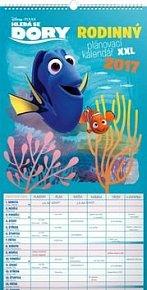 Hľadá sa Dory - nástenný kalendár 2017