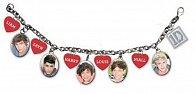Naramek s přívěsky - One Direction/ikony & srdce jména