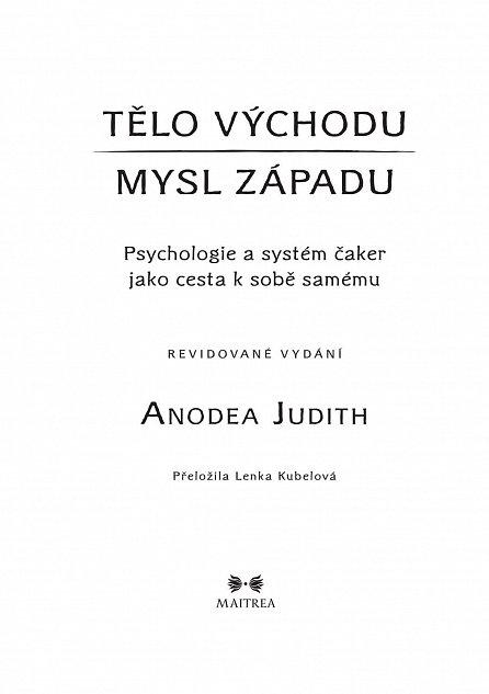 Náhled Tělo Východu, mysl Západu - Psychologie a systém čaker jako cesta k sobě samému