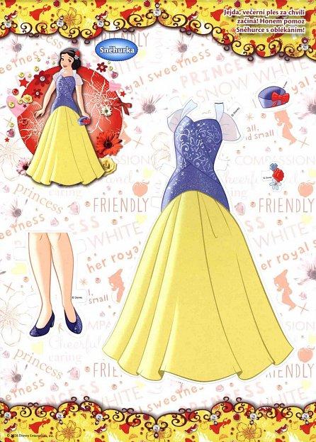 Náhled Princezny 2 - Oblékací panenky