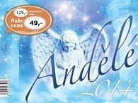 Andělé 2014- stolní kalendář