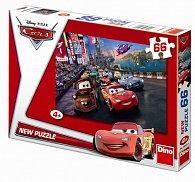 Auta: Spanilá Jízda - puzzle 66 dílků