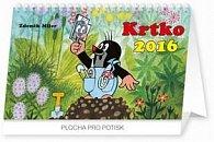 Krtko - stolový kalendár 2016
