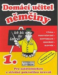 CD ROM Domácí učitel němčiny 1.díl