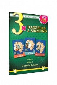 3x Hanzelka a Zikmund - 3DVD
