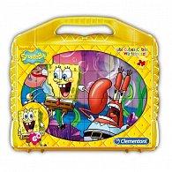 Kostky Kufřík(24 kostek) - Sponge Bob